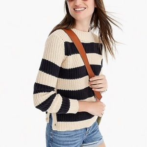 The Reeds X J.Crew rugby sweater with side buttons